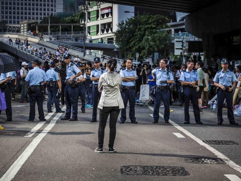Umbrella Movement protests