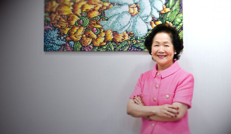 Anson Chan at her office