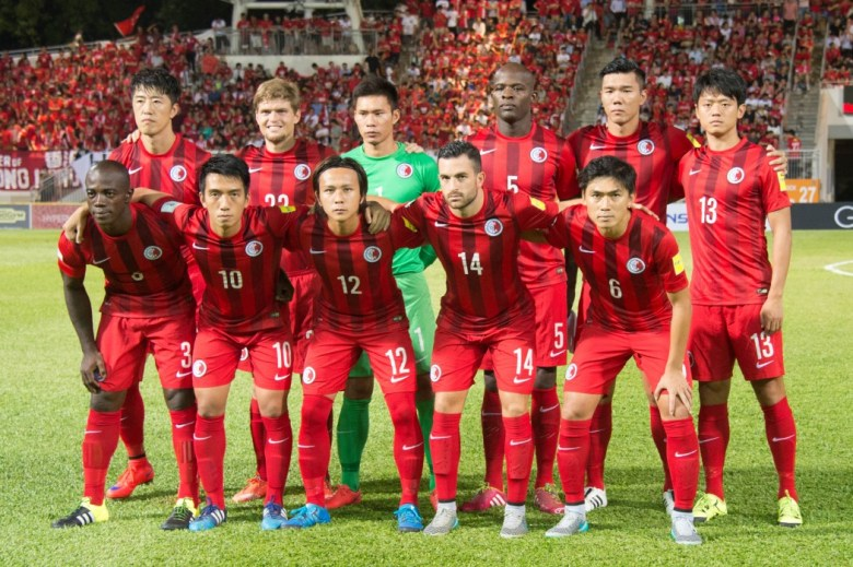 The Hong Kong national football team.