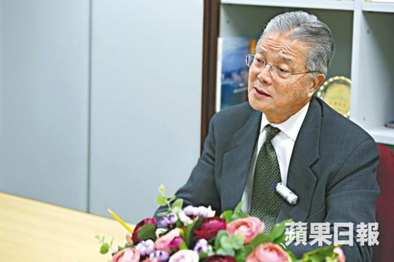 Liberal Party's Vincent Fang. Photo: Apple Daily.