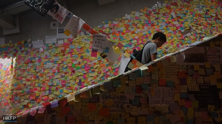 lennon wall occupy