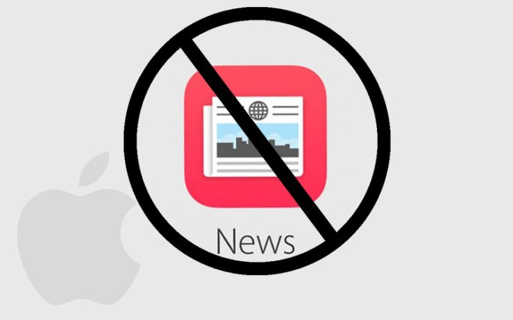 Apple News app not work in China