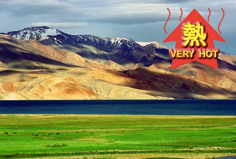 tibetan plateau snow and europe heat