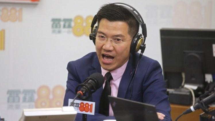 Gary Fan Kwok-wai of Neo Democrats.