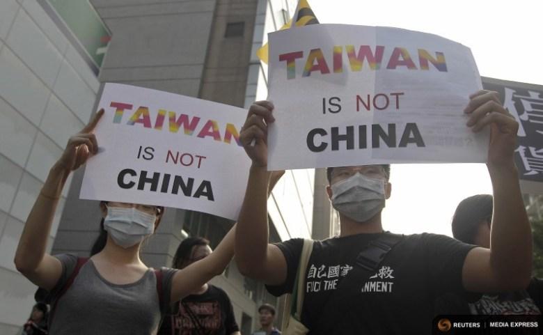 taiwan protest china