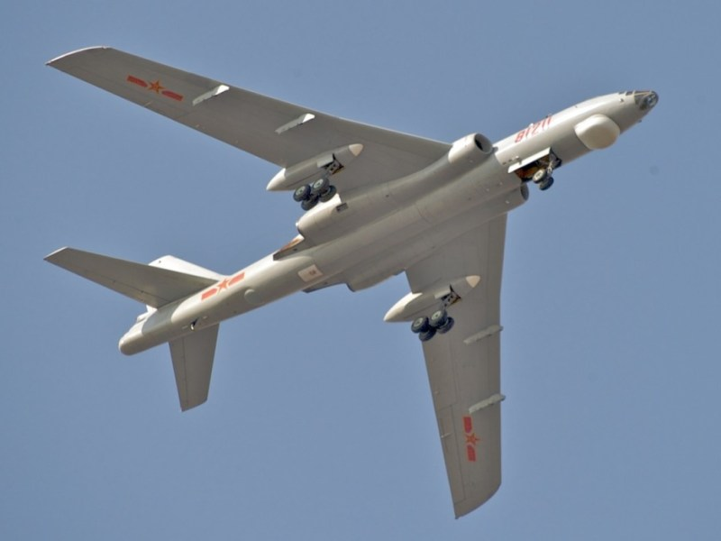 A Xian H-6M.