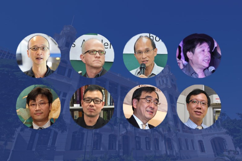 The HKU Council election candidates.