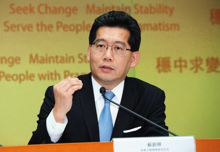 Secretary for Commerce and Economic Development Gregory So.