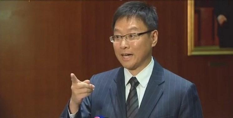 Lawmaker Kenneth Chan Ka-lok.