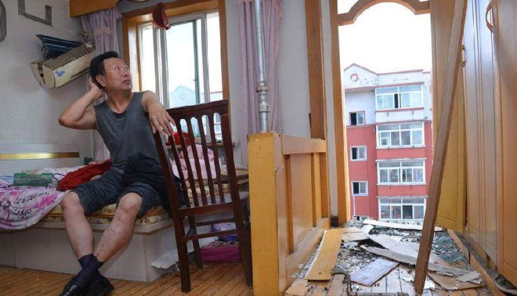 shenyang balcony collapse