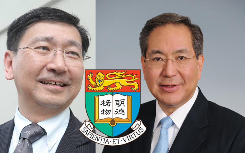Johannes Chan (left) and Arthur Li (right). Photo: Stand News and Gov HK.