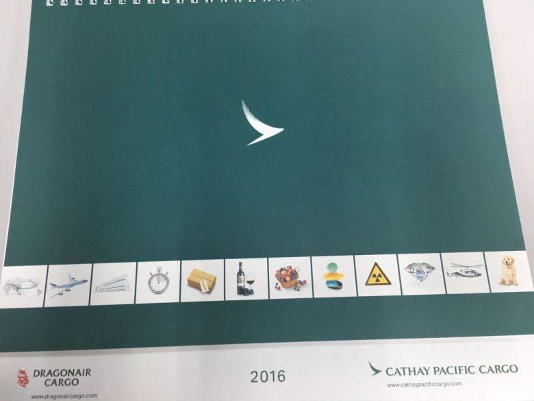 Cathay Pacific calendar