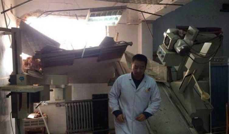 hospital demolition