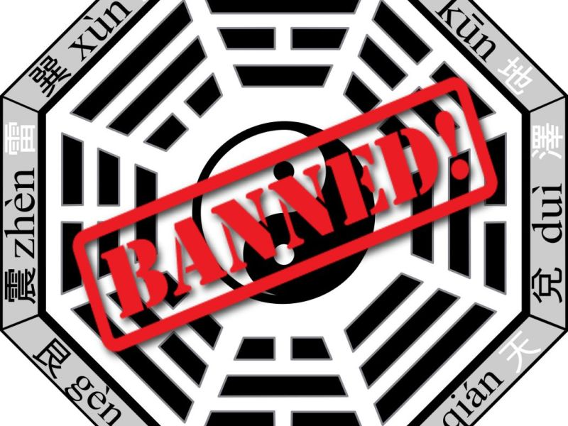 feng shui banned