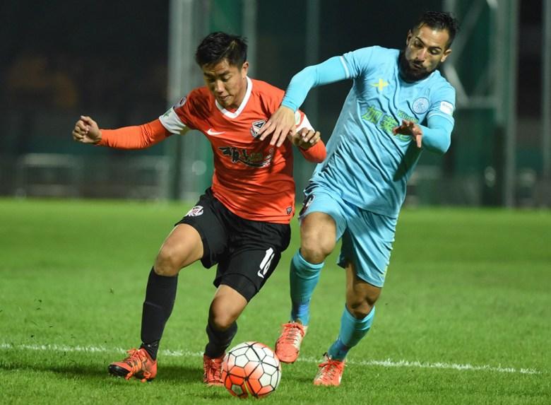 Yuen Long versus Rangers.