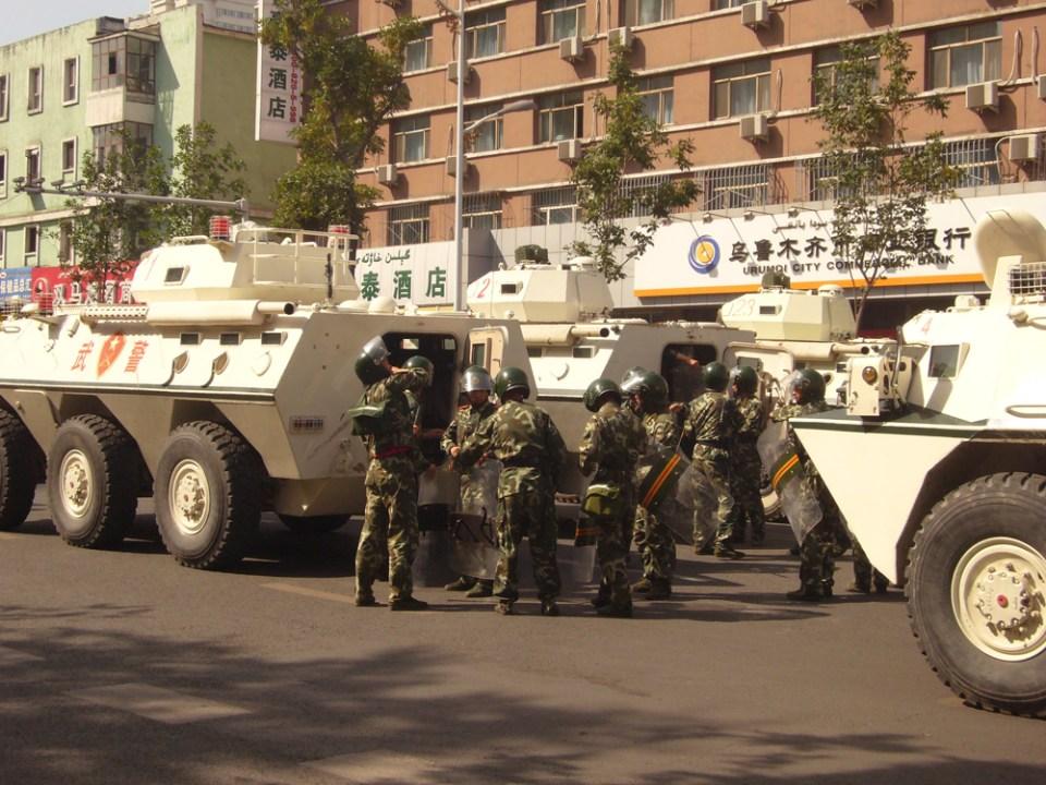 Xinjiang armed police