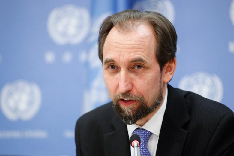 UN human rights hussein
