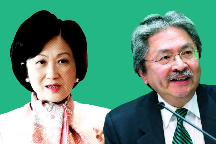 regina ip john tsang