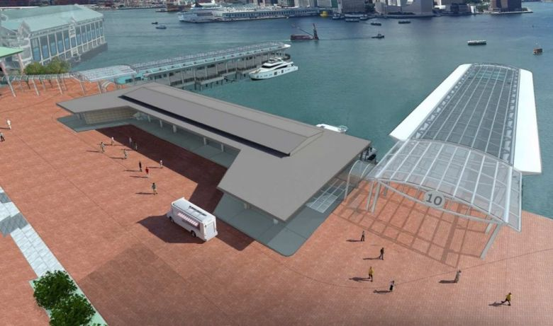 One of the relocation option of Queen's Pier