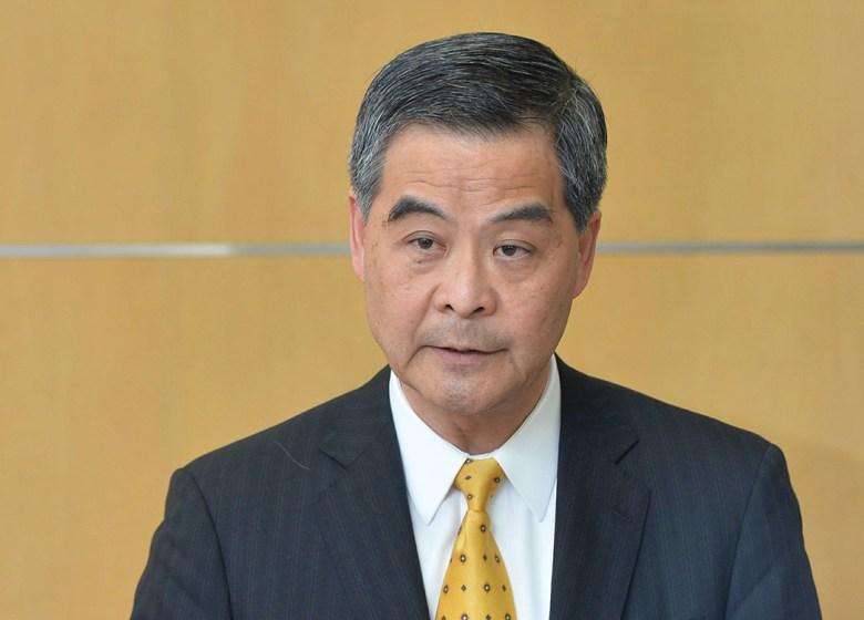 Chief Executive Leung Chun-ying.
