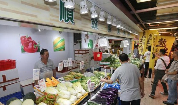 Civic Passion protesting at Cheung Fat market