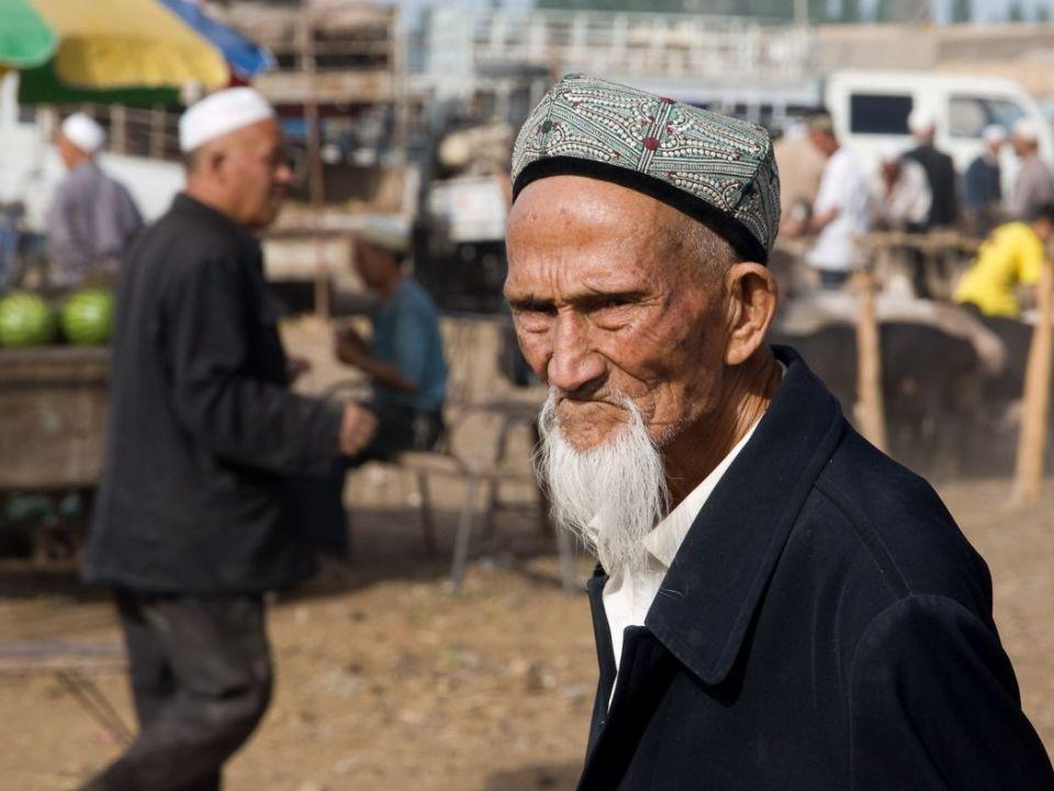 Uyghur Man Kashgar