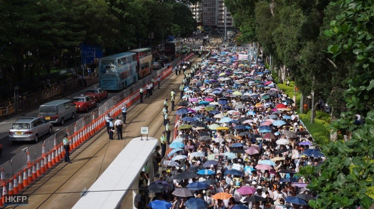 The 2014 July 1st pro-democracy march