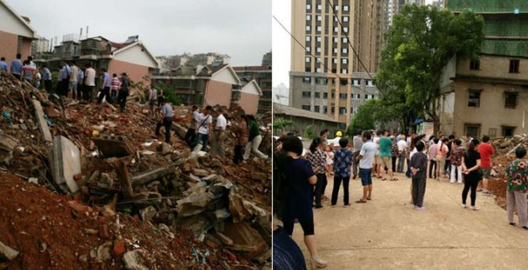 dead mother house demolition