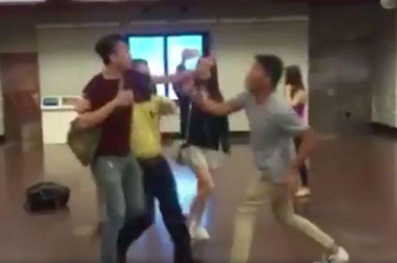 Edward Leung fight mtr