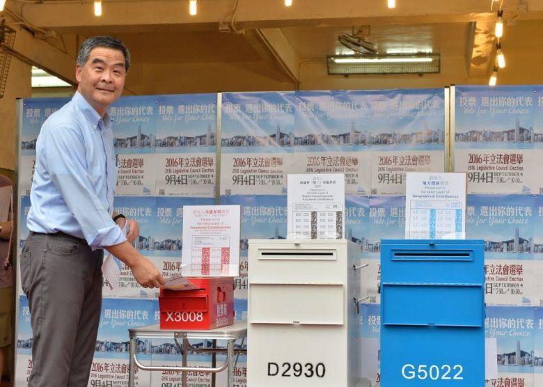 cy leung polls