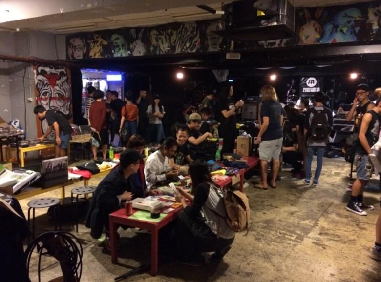 Hidden Agenda fundraising event. Photo: Elson Tong