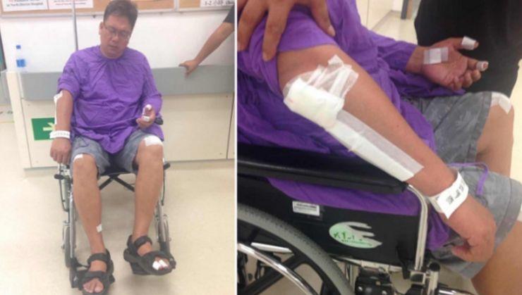 Liu's injuries