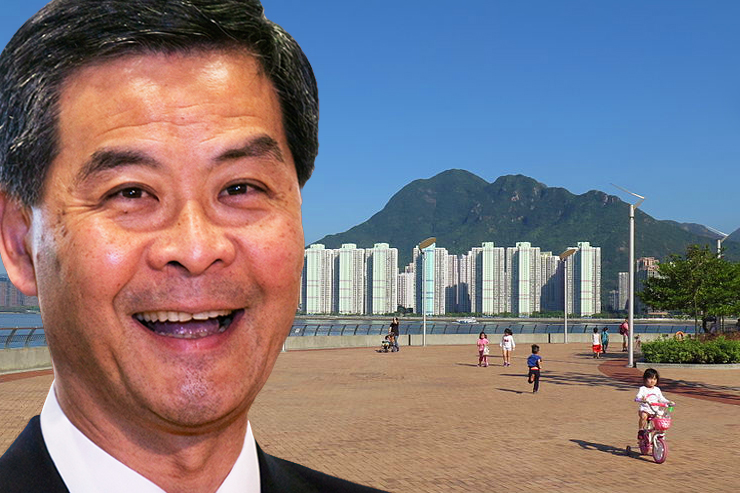 tai po fishing area with cy leung