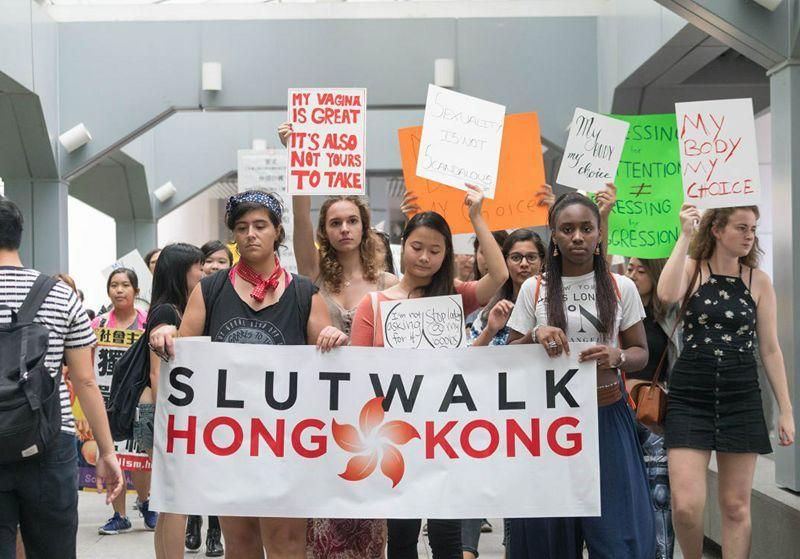 slutwalk hong kong