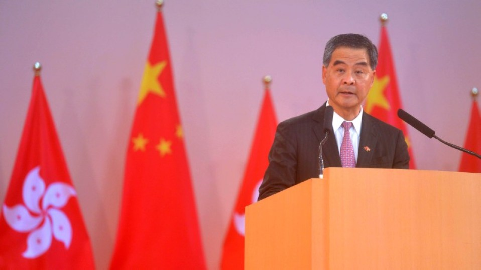 china hong kong one country two systems cy leung