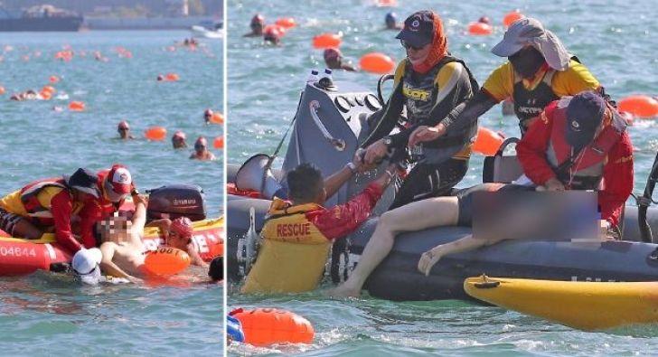 harbour swim death