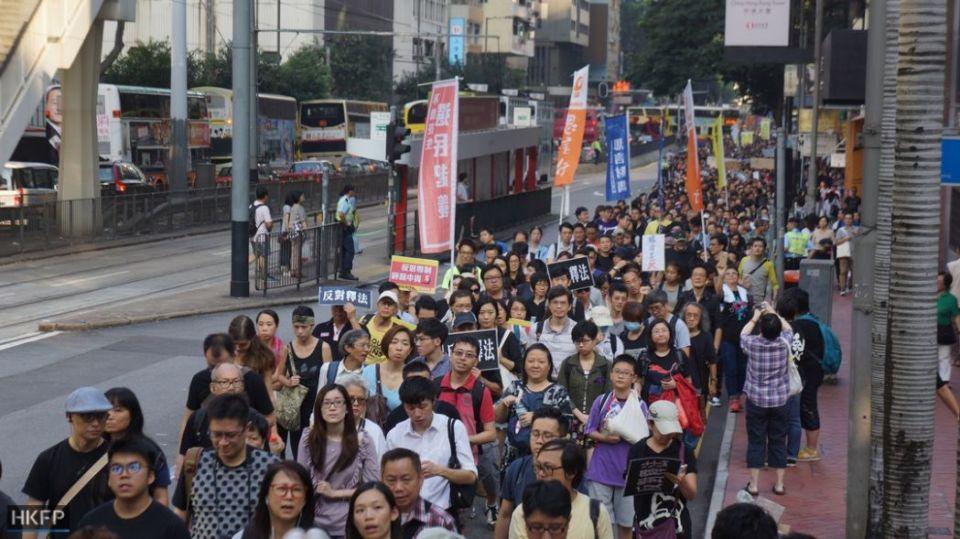 beijing oath basic law protest