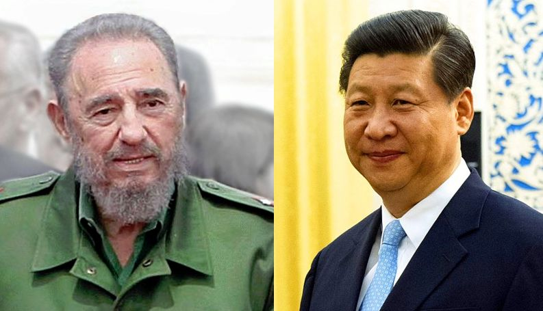 castro and xi jinping