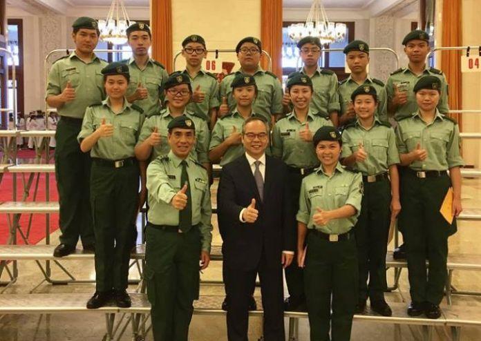 lau kong wah hk army cadets