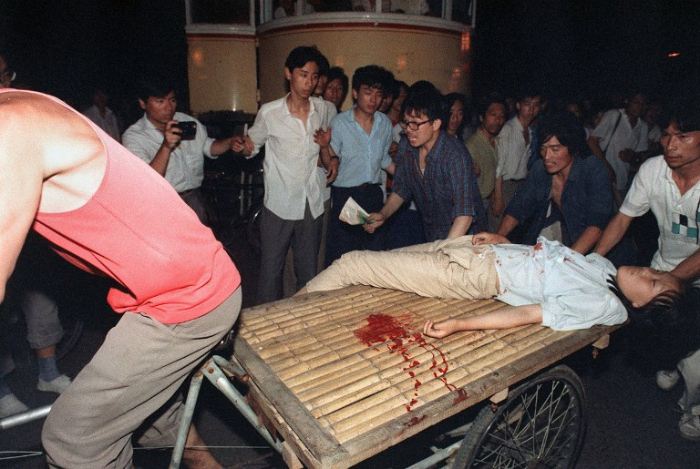 tiananmen square massacre crackdown 1989 bloodshed