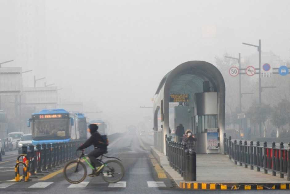 china smog pollution