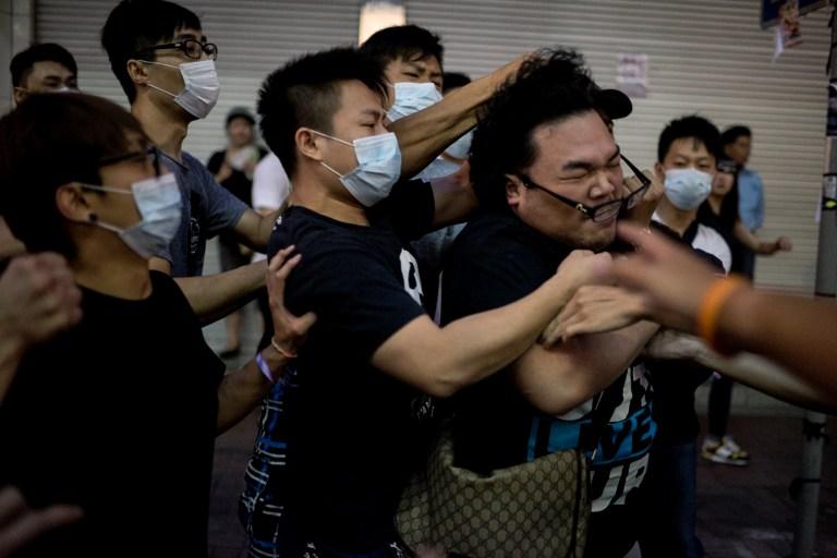 mong kok democracy occupy hong kong protest umbrella