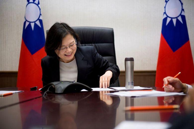 tsai ing wen donald trump