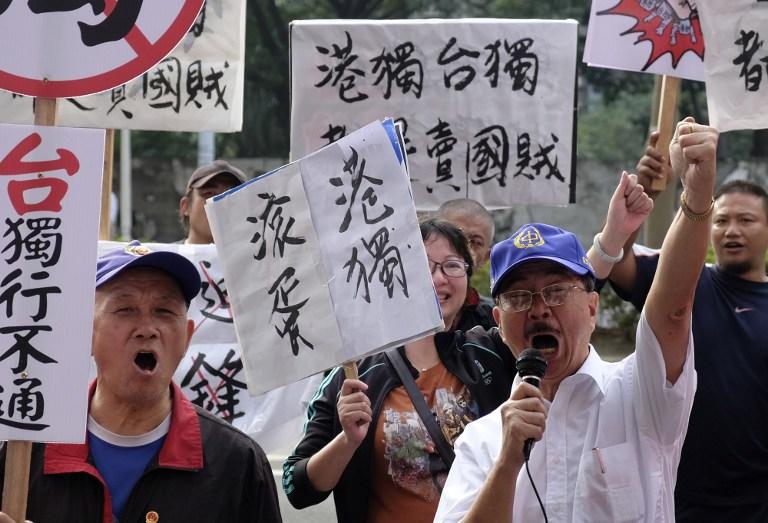 taiwan hong kong lawmakers