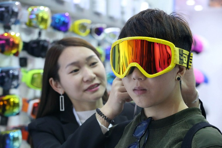china snow mask ski