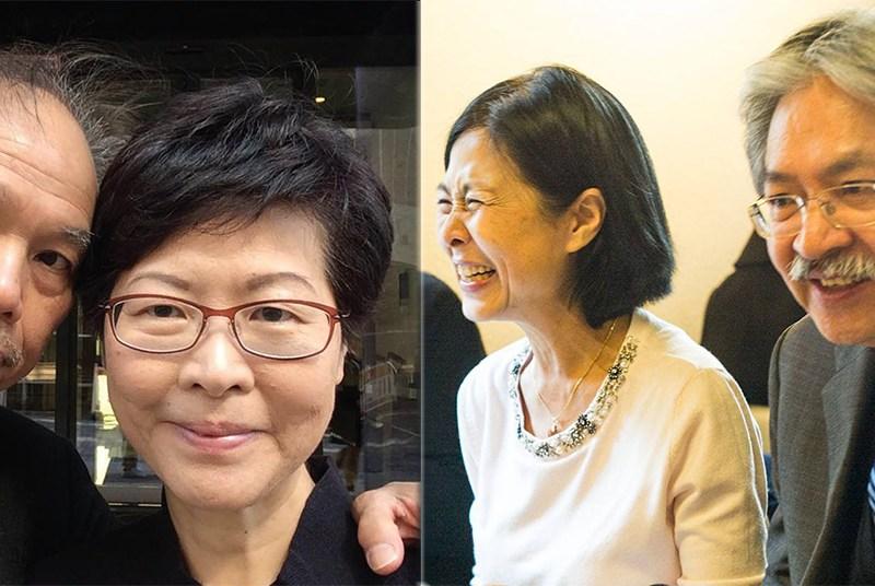 Carrie Lam John Tsang