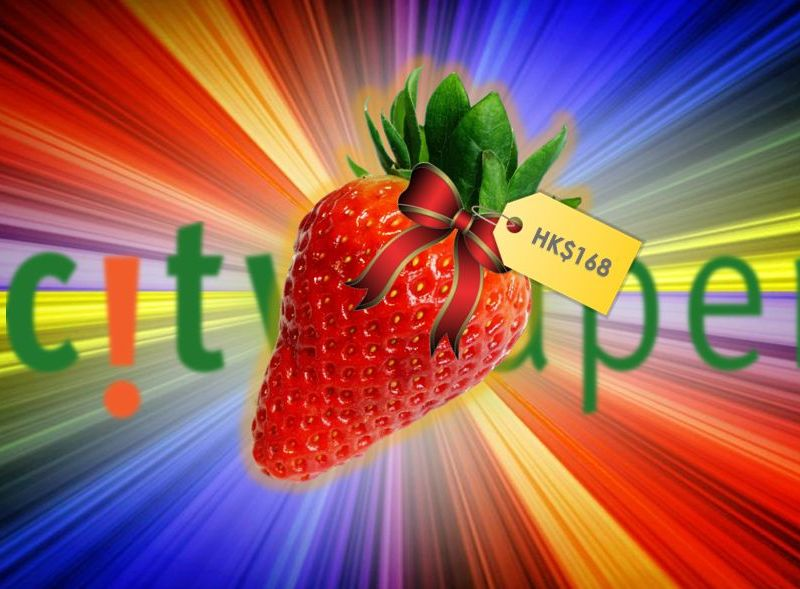 strawberry fruit citysuper