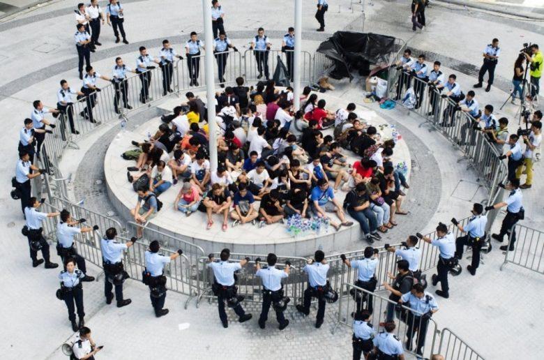 civic square protests