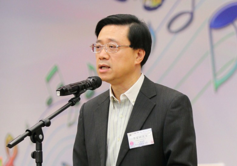 Secretary for Security John Lee Ka-chiu