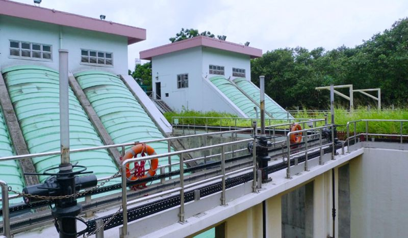 Pillar Point Valley Restored Landfill treatment plant, Tuen Mun. File photo: Environmental Protection Department.